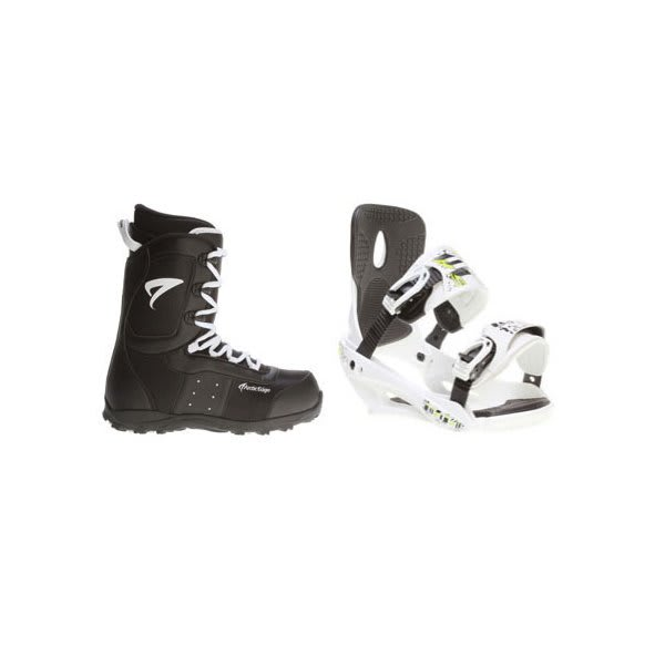 Arctic Edge Snowboard Boots W / Sapient Stash Bindings White U.S.A. & Canada