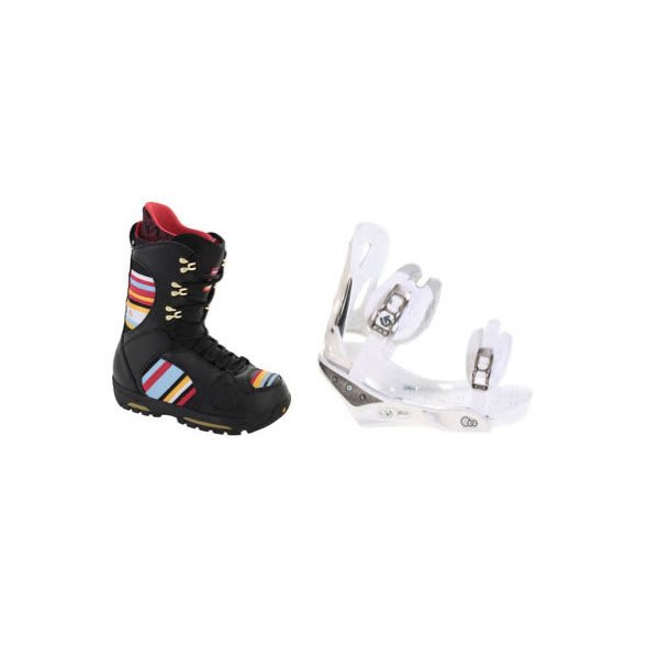 Burton Sabbath Snowboard Boots W / Burton C60 Bindings White U.S.A. & Canada