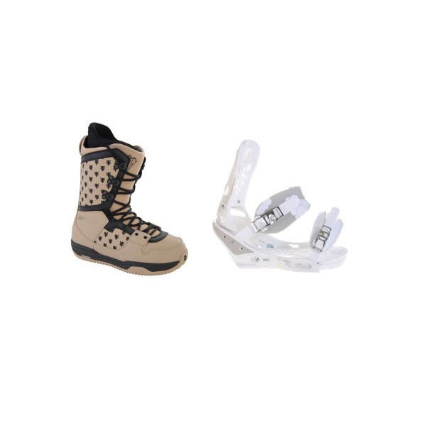 Burton Shaun White Collection Snowboard Boots W / Burton Triad Bindings White U.S.A. & Canada