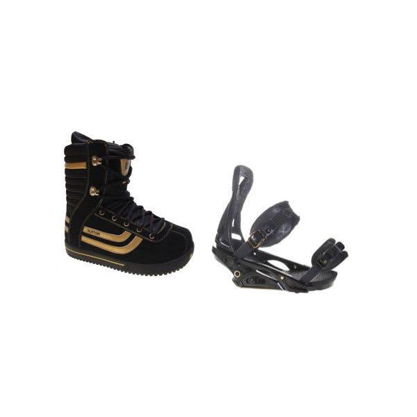 Burton Stumpy Snowboard Boots W / Burton P1 1 Bindings Blac U.S.A. & Canada