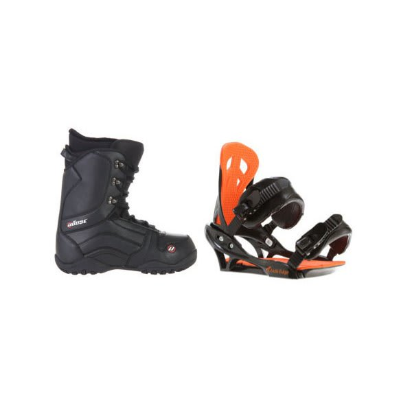 House Transition Snowboard Boots W / Arctic Edge Team Bindings Black U.S.A. & Canada