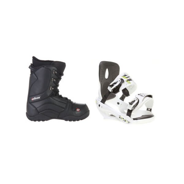 House Transition Snowboard Boots W / Sapient Stash Bindings White U.S.A. & Canada
