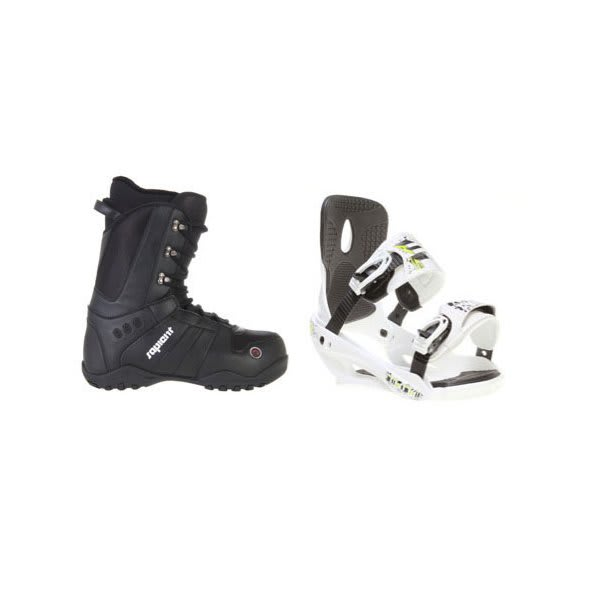 Sapient Method Snowboard Boots W / Sapient Stash Bindings White U.S.A. & Canada