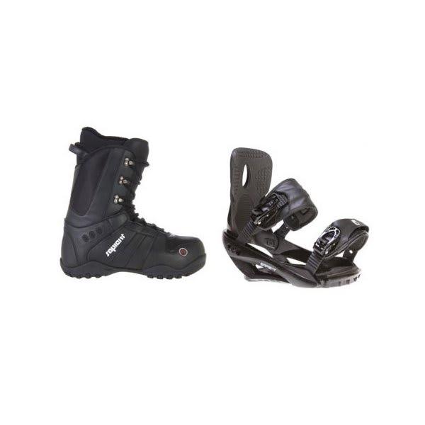 Sapient Method Snowboard Boots W / Sapient Wisdom Bindings Black U.S.A. & Canada
