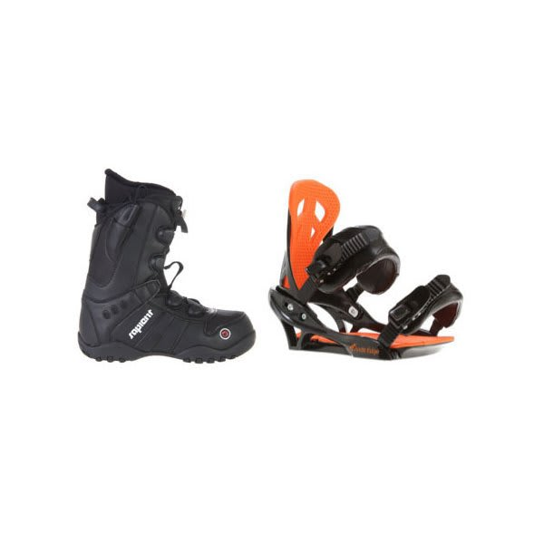 Sapient Method Speed Lace Snowboard Boots W / Arctic Edge Team Bindings Black U.S.A. & Canada