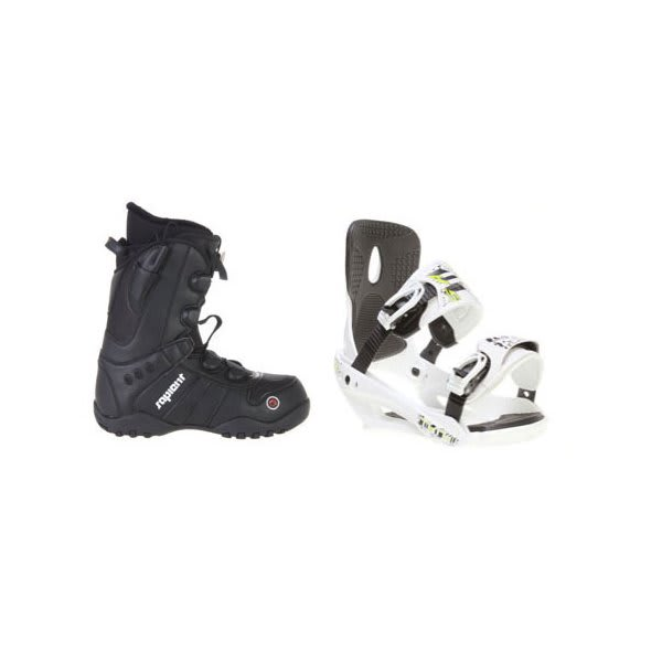 Sapient Method Speed Lace Snowboard Boots W / Sapient Stash Bindings White U.S.A. & Canada