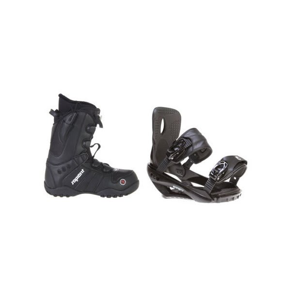 Sapient Method Speed Lace Snowboard Boots W / Sapient Wisdom Bindings Black U.S.A. & Canada