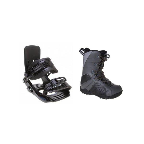 Ltd Classic Snowboard Boots Grey / Black W / Salomon Team Bindings Black U.S.A. & Canada
