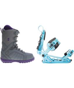 Forum Bebop Snowboard Boots w/ K2 Cinch Tryst Bindings