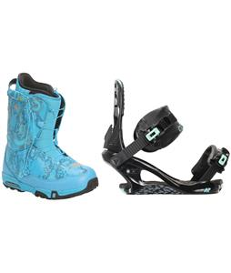 Forum Destroyer Snowboard Boots w/ K2 Yeah Yeah Bindings