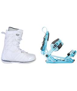 Ride Donna Snowboard Boots w/ K2 Cinch Tryst Bindings
