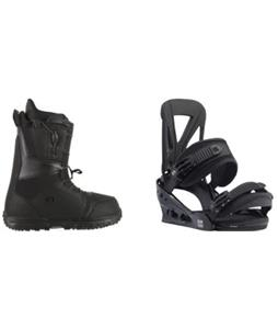 Burton Moto LTD Boots w/ Burton Custom Re:Flex Bindings