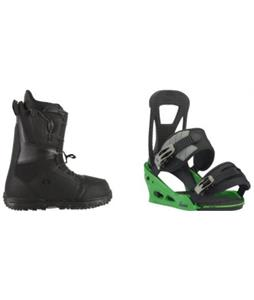 Burton Moto LTD Boots w/ Burton Freestyle Re:Flex Bindings