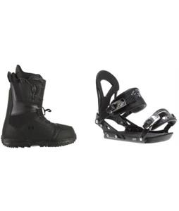 Burton Moto LTD Boots w/ Ride EX Bindings