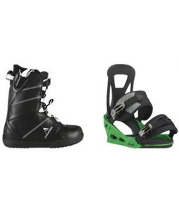 Chamonix Lognan Boots� w/ Burton Freestyle Re:Flex Bindings