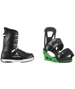 Chamonix Savoy Boots 2018 w/ Burton Freestyle Re:Flex Bindings
