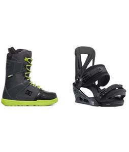 DC Phase Boots w/ Burton Custom Re:Flex Bindings