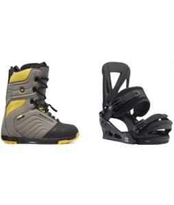 DC Scendent Boots w/ Burton Custom Re:Flex Bindings