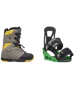 DC Scendent Boots w/ Burton Freestyle Re:Flex Bindings