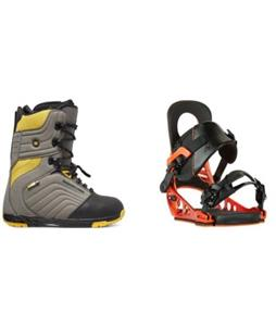 DC Scendent Boots w/ K2 Lien AT Bindings