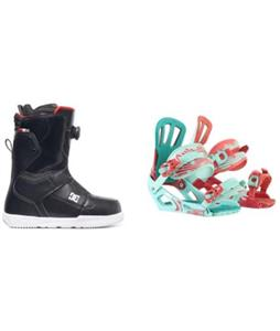 DC Scout BOA Boots w/ Rossignol Cage Bindings