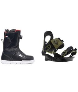 DC Scout BOA Boots w/ Rossignol Cobra V2 Bindings