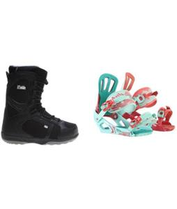 Head Scout Pro Boots w/ Rossignol Cage Bindings