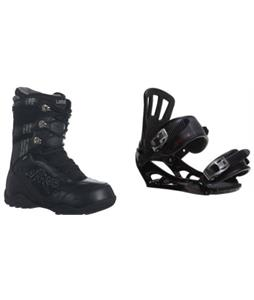 Lamar Justice Boots w/ Rossignol Battle V1 Bindings