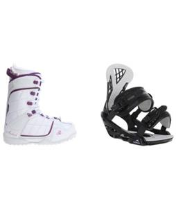 Avalanche Eclipse Boots w/ Chamonix Bellevue Bindings