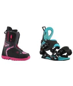 Burton Mint Boots w/ GNU B-Forward Bindings