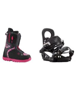 Burton Mint Boots w/ K2 Hue Bindings