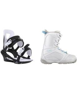 Avalanche Eclipse XII Jr Boots w/ Chamonix Savoy Bindings