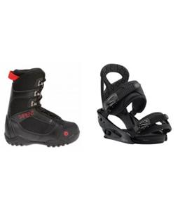 Sapient Prodigy Boots w/ Burton Mission Smalls Bindings