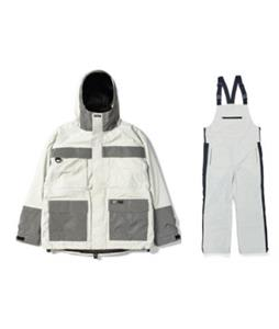 BSRabbit Mountain Pow Snowboard Jacket w/ WWB Bib Pants