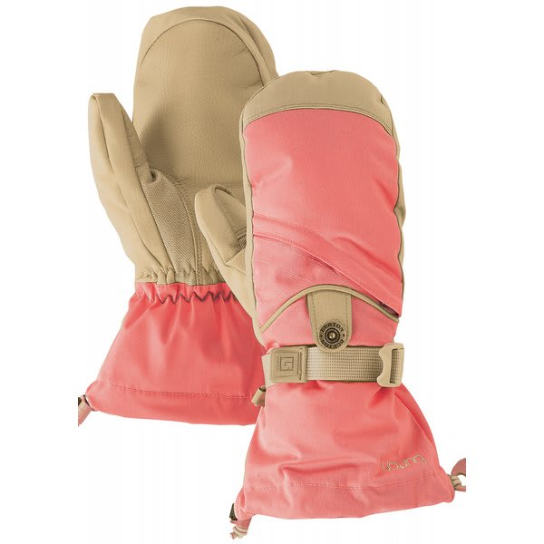 Burton Baker Mittens Petal Pink U.S.A. & Canada
