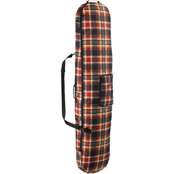 Burton Board Sack Snowboard Bag Majestic Black Plaid 166Cm U.S.A. & Canada