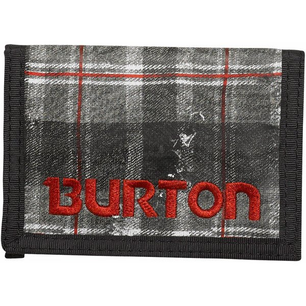 Burton Cory Wallet Tattered Plaid U.S.A. & Canada