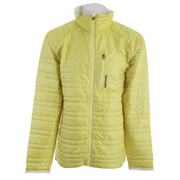 Burton Decibel Insulated Snowboard Jacket Barrier Yellow U.S.A. & Canada