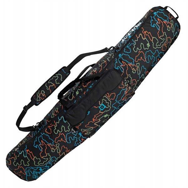 Burton Gig Snowboard Bag True Black Neon Camo 166 U.S.A. & Canada
