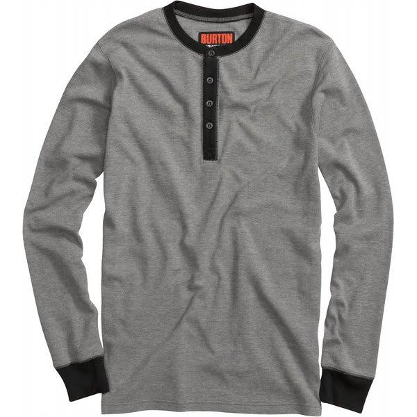 Burton Henley Sweatshirt True Black U.S.A. & Canada