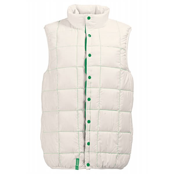 Burton Idiom Packable Down Vest Bright White U.S.A. & Canada