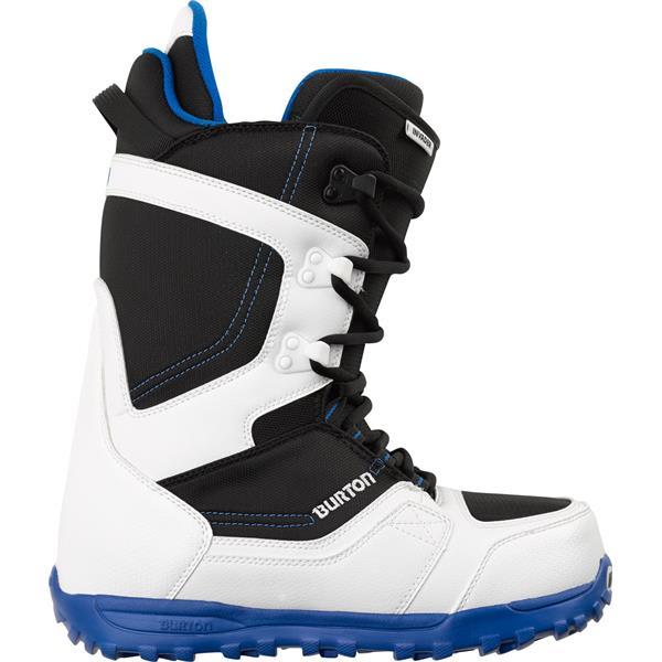 Burton Invader Snowboard Boots White / Black / Blue U.S.A. & Canada