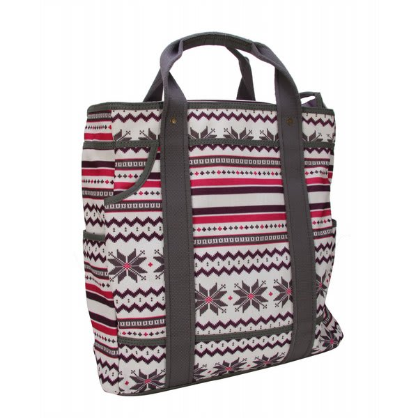Burton eep All Tote Fair Isle White U.S.A. & Canada