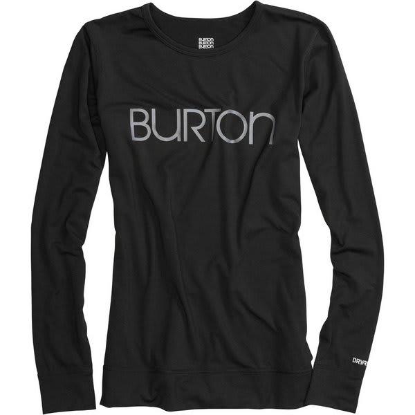 Burton Midweight Crew Baselayer Top True Black U.S.A. & Canada
