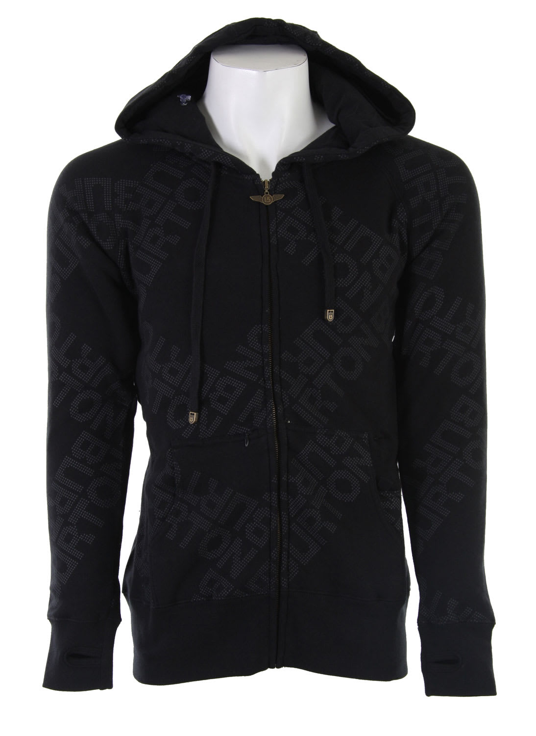 fid hoodie zipper heathers w sleeper hooded weare zoom burton heather shop