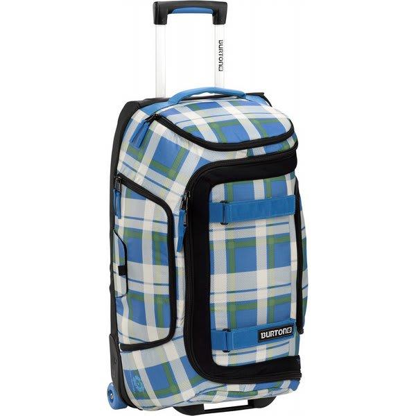 "Burton Tech Light Duffel Travel Bag Jump Off Plaid 24"" U.S.A. & Canada"