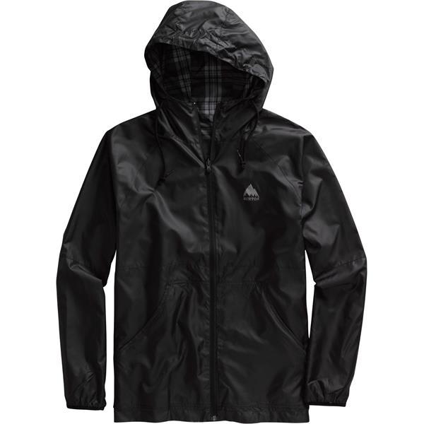 Burton Torque Jacket True Black / Smog Gutter Plaid Reverse U.S.A. & Canada