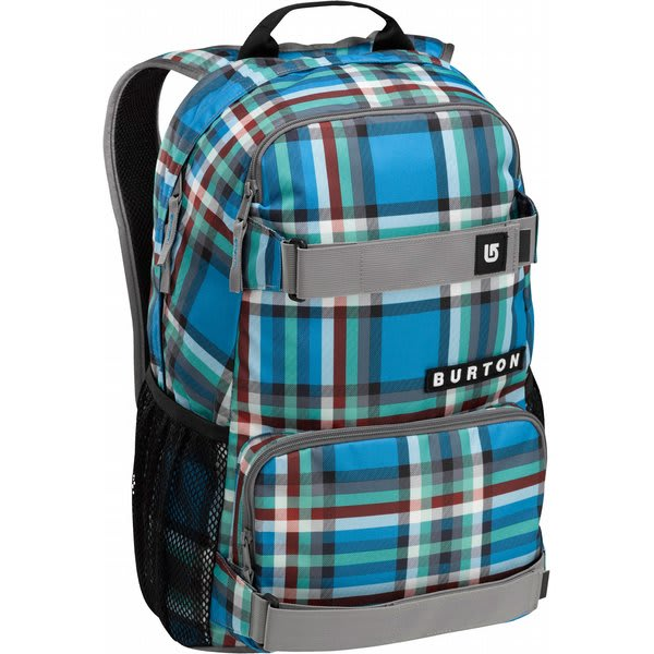 Burton Treble Yell Backpack Majestic Bombay Plaid U.S.A. & Canada