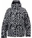 burton twc such a deal snowboard jacket white/diamond