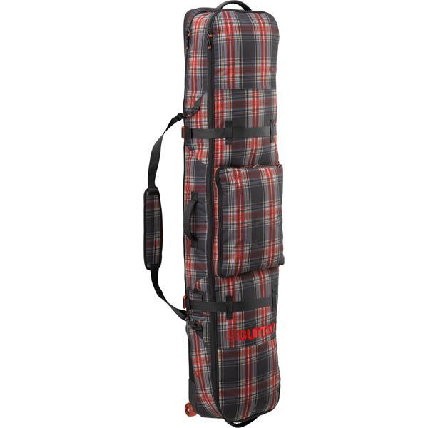 Burton Wheele Board Case Snowboard Bag Black Plaid 166Cm U.S.A. & Canada